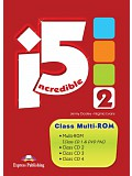 Incredible Five 2 - Class multi-ROM PAL (class audio CDs + DVD)