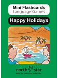 Mini Flashcards Language Games - Happy Holidays
