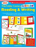 Scholastic - Teaching Resources - Mini File - Folder centers in Color (Reading & Writing) Grades K1