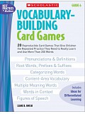 Scholastic - Teaching Resources - Vocabulary Buiding Card Games 6