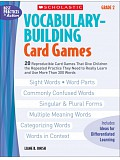 Scholastic - Teaching Resources - Vocabulary Building Card Games 2