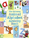 Usborne - Animal alphabet activity book