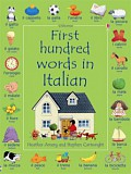 Usborne - First hundred words in Italian
