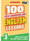 Scholastic - 100 English Lessons: Year 3