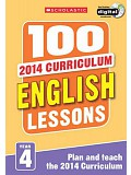 Scholastic - 100 English Lessons: Year 4