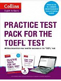 COLLINS English for Exams - Practice Test Pack for the TOEFL Test with CD