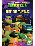 Popcorn ELT Readers Starter: Teenage Mutant Ninja Turtles - Meet the Turtles! with CD