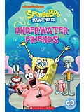 Popcorn ELT Readers Starter: SpongeBob Squarepants - Underwater Friends with CD