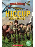 Popcorn ELT Readers Starter: Dragons - Hiccup and Friends with CD