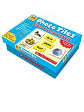 Scholastic - Little Red Tool Box - Photo Tiles: Short & Long Vowels