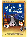 Usborne First 3 - The Musicians of Bremen + CD