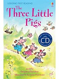 Usborne First 3 - The Three Little Pigs + CD