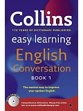 Collins Easy Learning English Conversation: Book 1 (incl. audio CD)