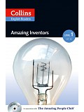 Collins English Readers 1 - Amazing Inventors with CD