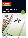 Collins English Readers 2 - Amazing Architects and Artists with CD